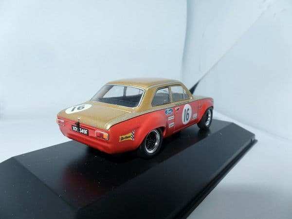 ATLAS HR01 1/43 ALAN MANN FORD ESCORT MKI TC 16 BTCC CHAMPION FRANK GARDNER 1968